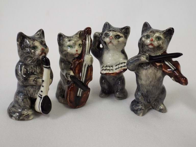 Beswick pottery cat orchestra