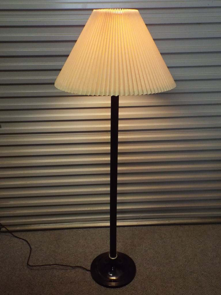 1930s art deco standard lamp