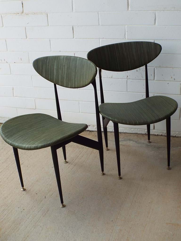 "Set of six 1960s ""Scape"" dining chairs"