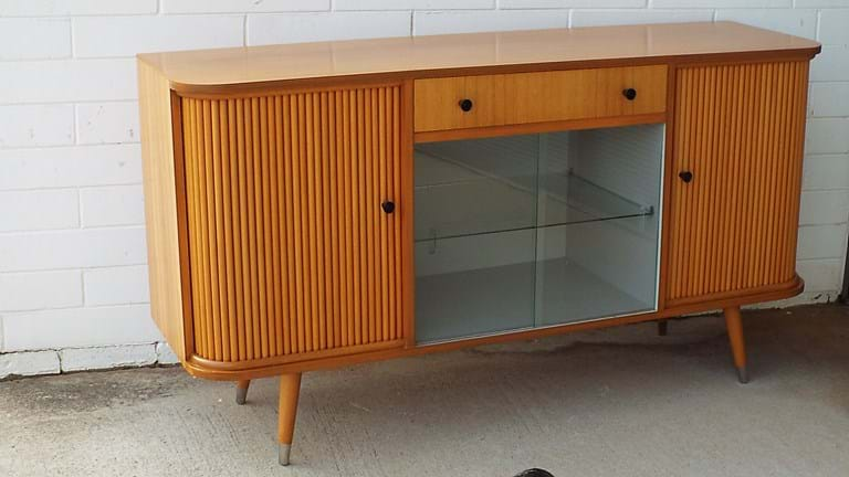 1950s maple sideboard