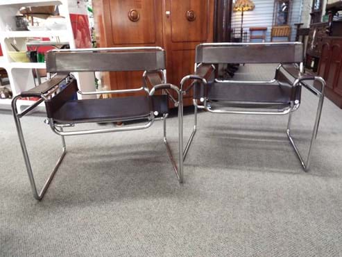 Pair Wassily chairs Fasem Italy