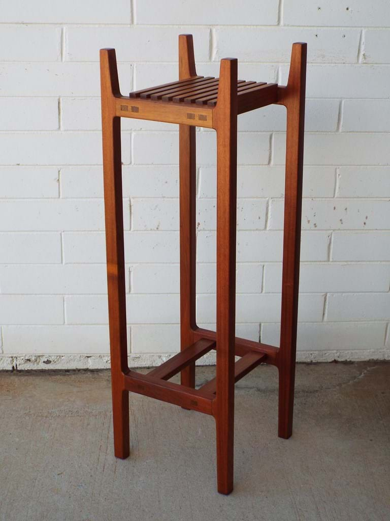 1960s blackwood plant stand