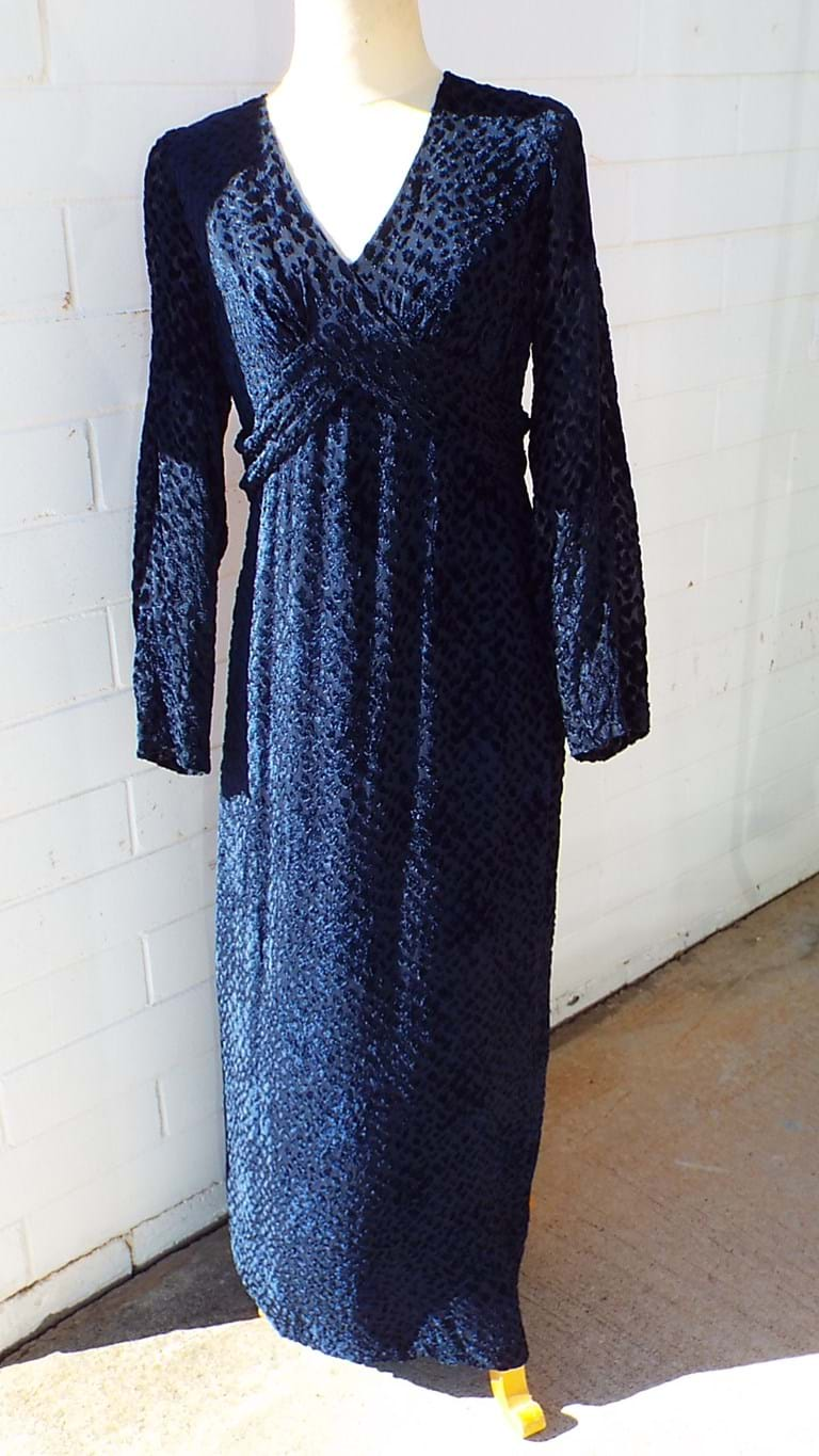 1970s Peer Gynt maxi dress