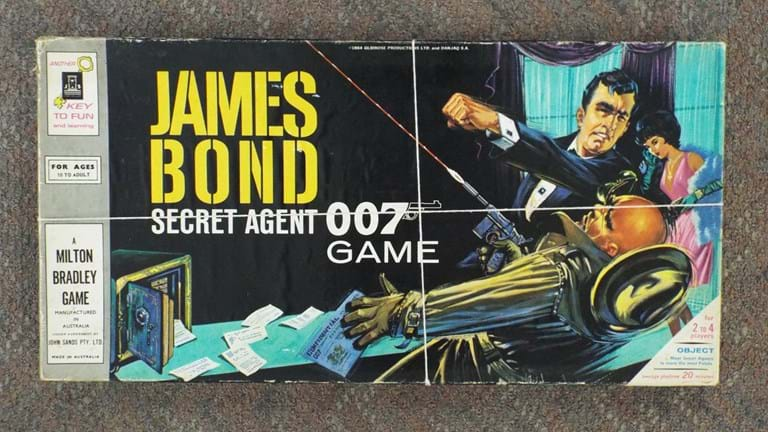 1960s James Bond 007 board game