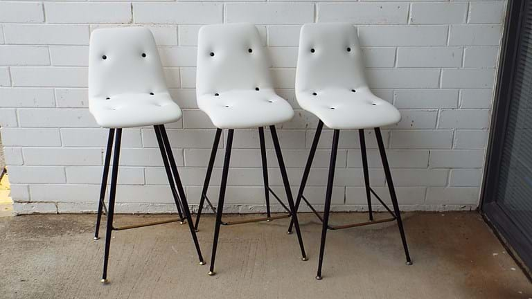Set 1960s bar stools