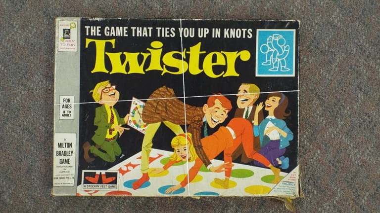 1960s board game Twister