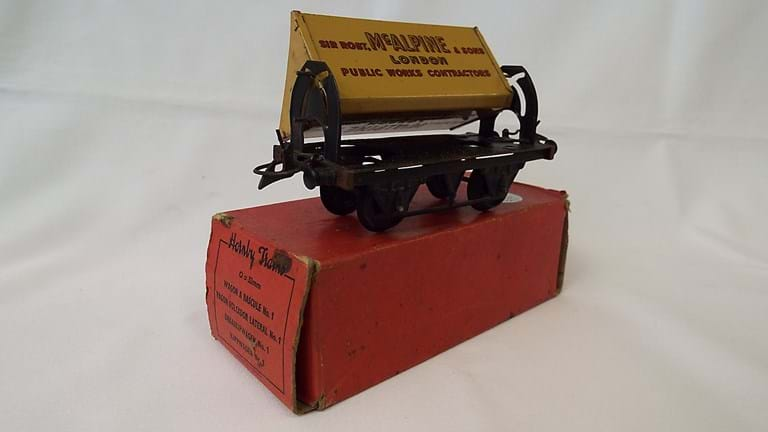 Hornby toy side tipping wagon