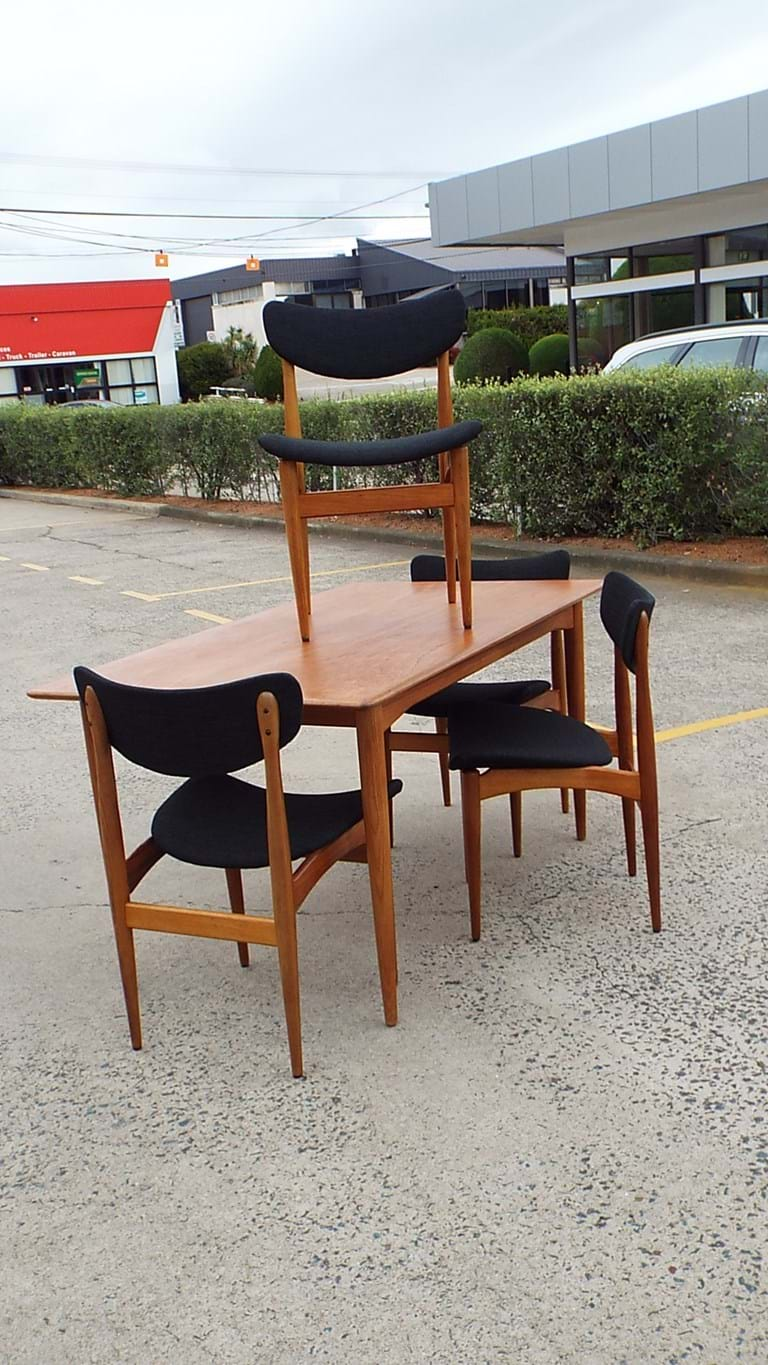 1960s dining suite by Parker Furniture