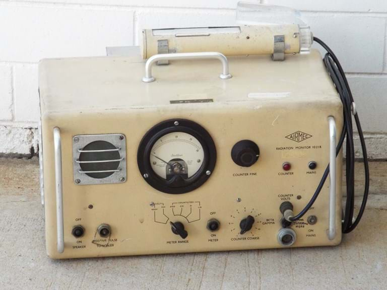 1950s British radiation monitor