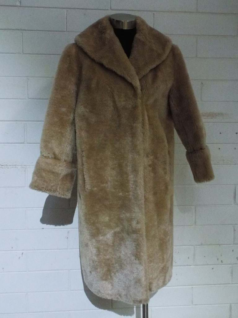 1960s faux fur coat
