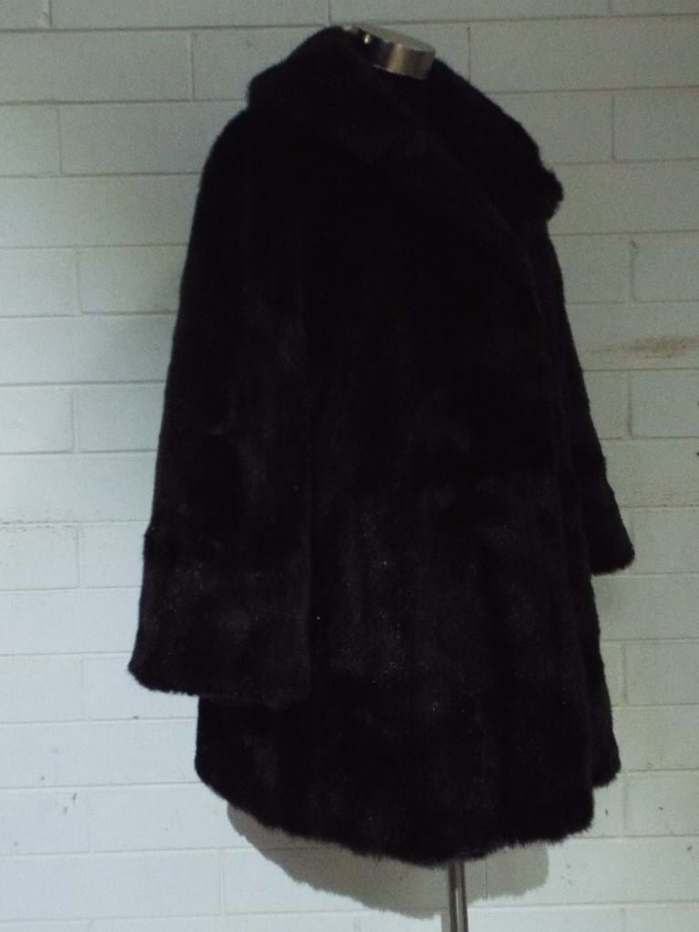 1970s faux fur coat