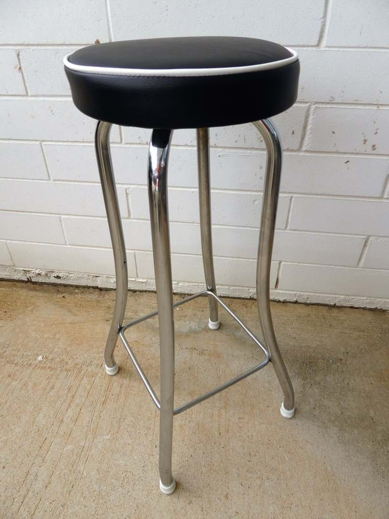 Retro and Vintage Dining amp Kitchen Furniture SOLD : 1960s kitchen stool new upholstery and feet november 2016 wfswbakfboya from www.canberraantiques.com size 768 x 1024 jpeg 181kB