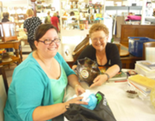 Kristie from Richardson was pleased to learn from Denise Bird of Nana's Pearls that her prized amethyst carnival glass 'Magpie and Flannel Flower' master bowl is valued at $300 - $400.