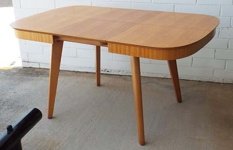 1950s Erfly Extension Parker Dining Table