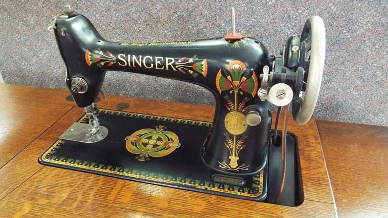 1930s Singer treadle sewing machine