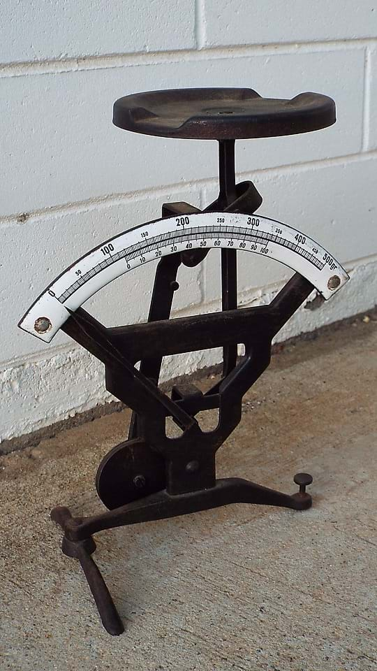 Very cool cast iron scales