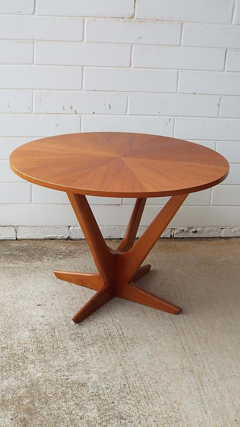 1960s side table by Kubus
