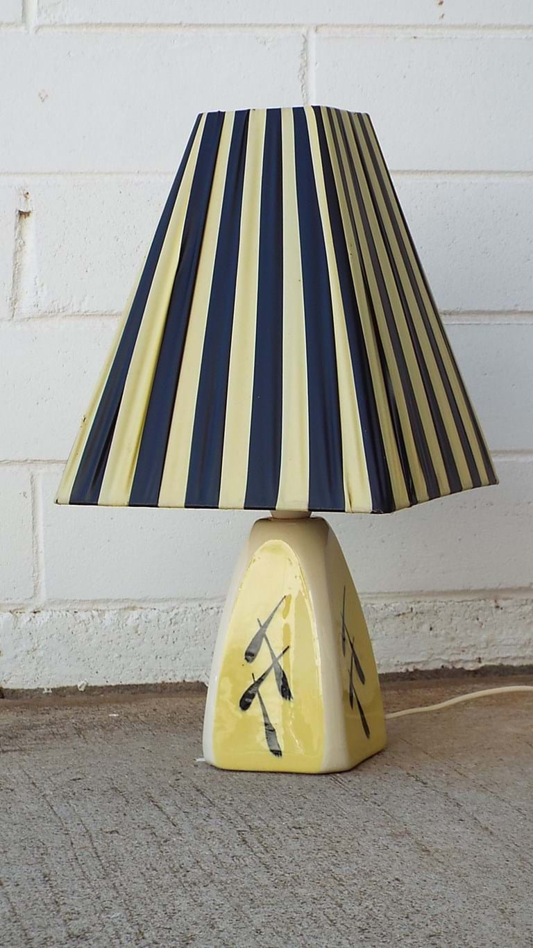 1950s table lamp