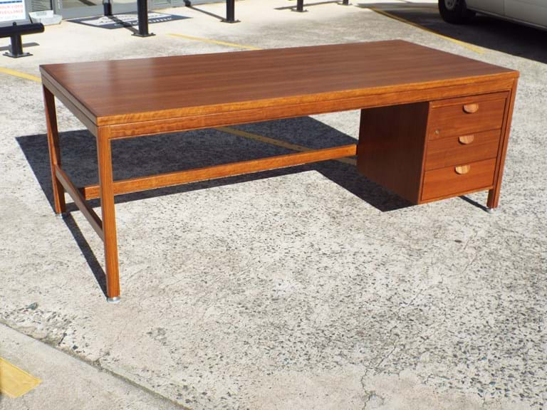 Danish design blackbean desk from Old Parliament House