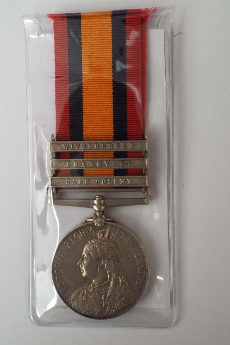 Queen's South Africa medal c1900