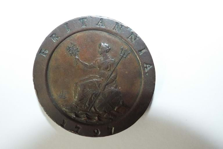UK Australia 1797 Cartwheel Penny