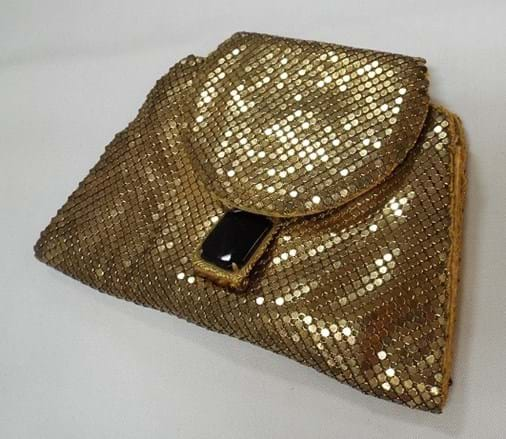 1920s USA mesh evening purse, Whiting and Davis