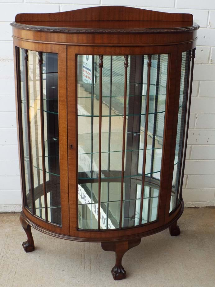 Edwardian Gany China Cabinet