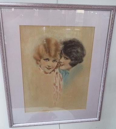 Pair 1930s art deco prints Gutmann & Gutmann, New York