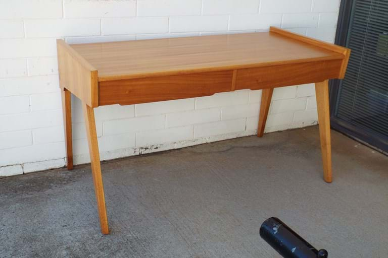 1950s QLD maple desk