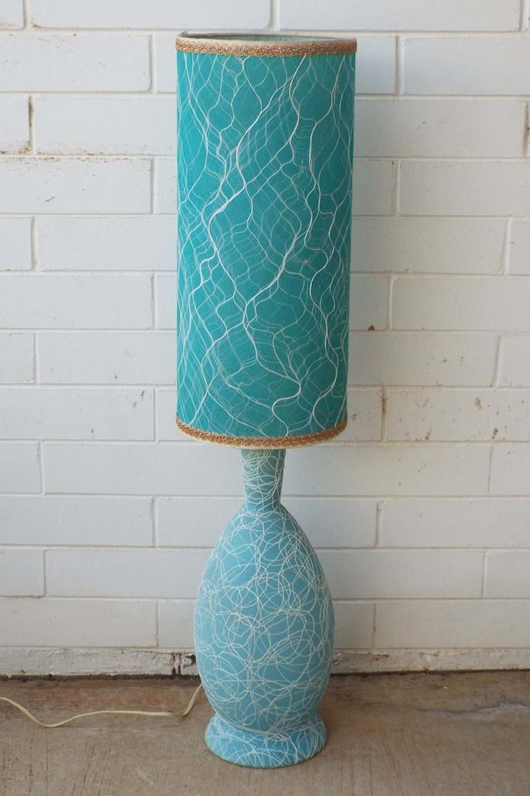1960s Australian ceramic table lamp