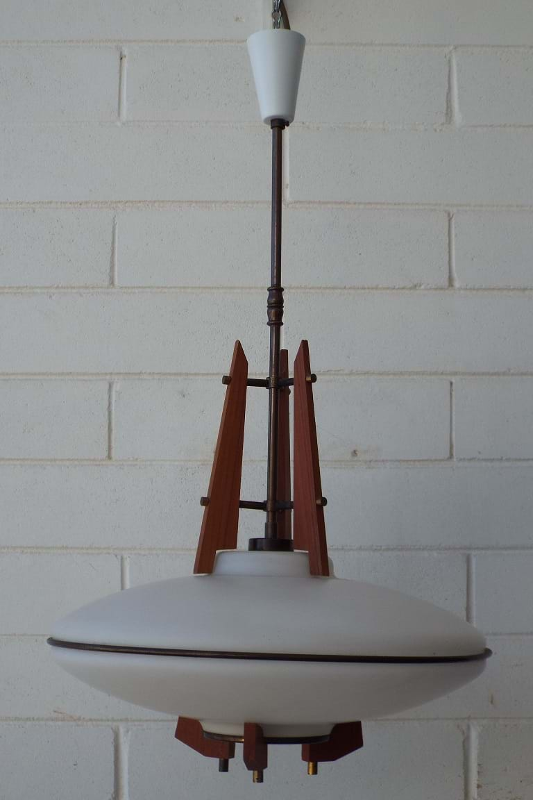 1960s pendant light fitting