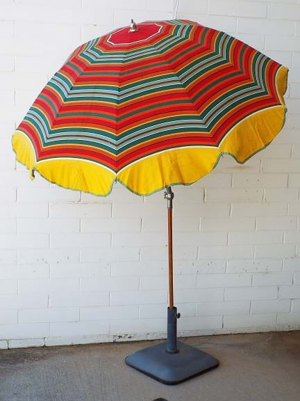 1960s beach umbrella