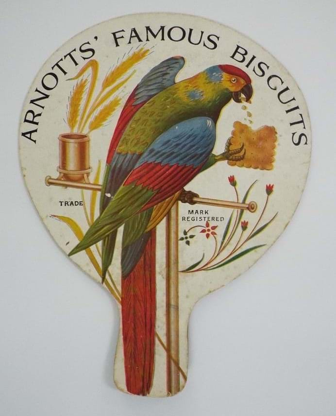 Arnotts Biscuits advertising fan