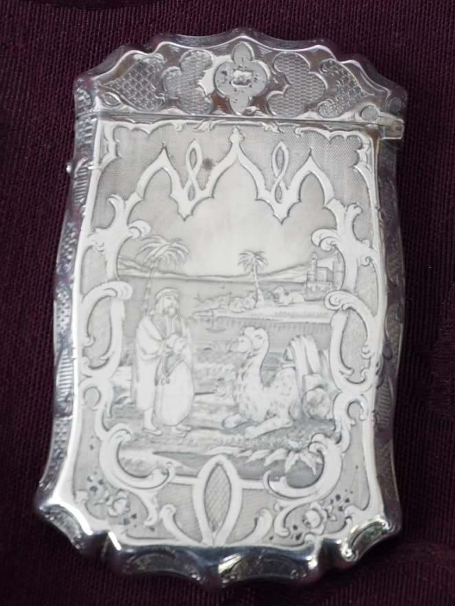 Victorian sterling silver case