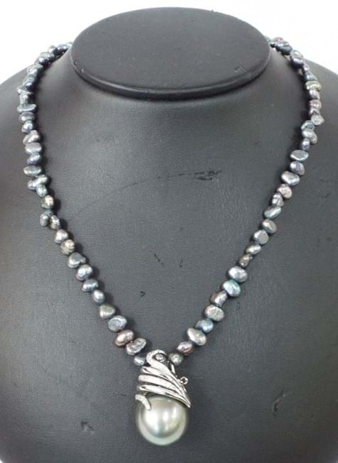 Tahitian black pearl enhancer