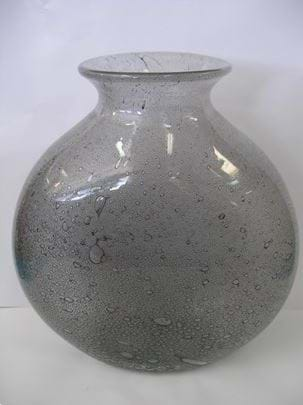 Signed Barovier for Toso Efeso Murano glass vase