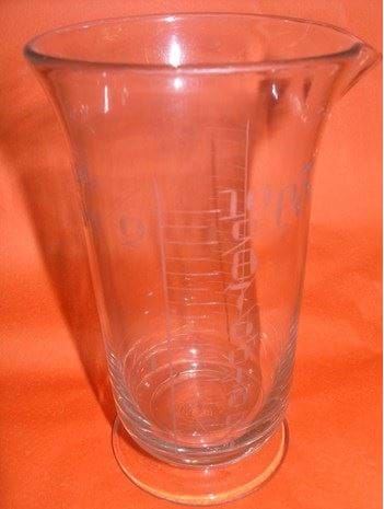 Imperial pint measuring glass