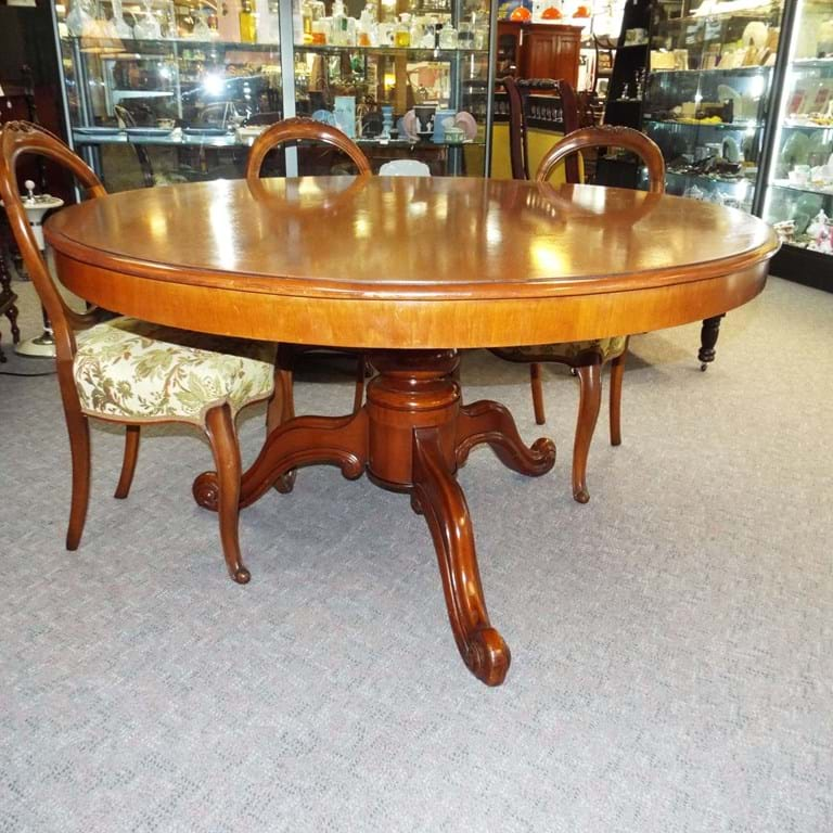 Australian antique furniture canberra antiques centre for Table for 6 brisbane