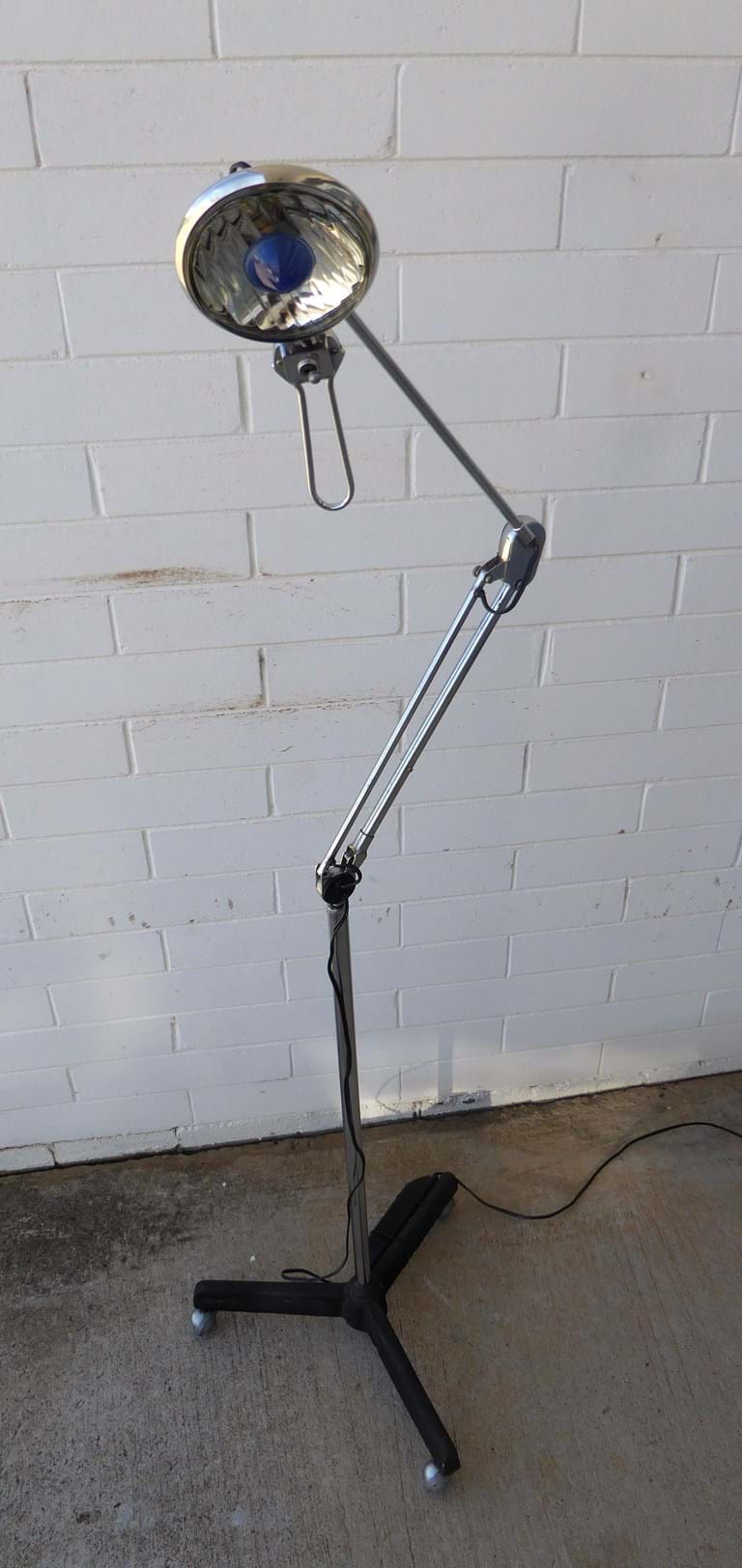 1960s examination floor lamp by Planet Lighting