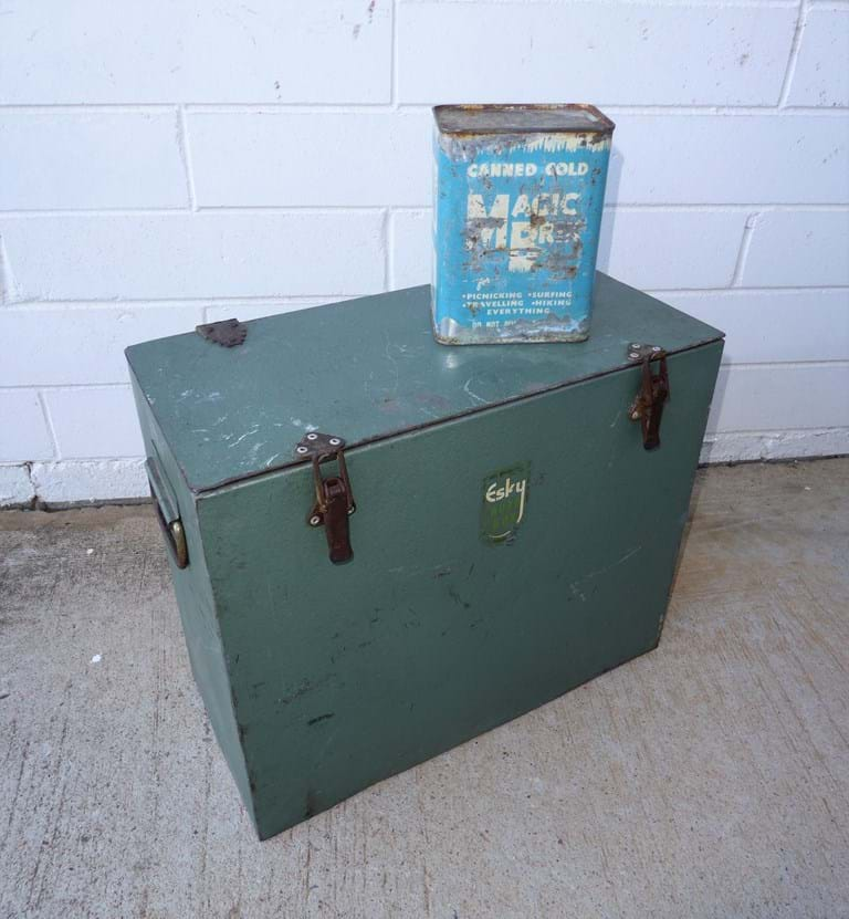 "1950s ""Auto Box"" esky by Malleys"