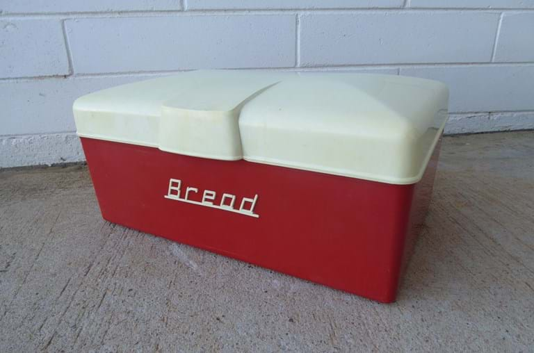 1950s plastic bread bin by Nally Plastics