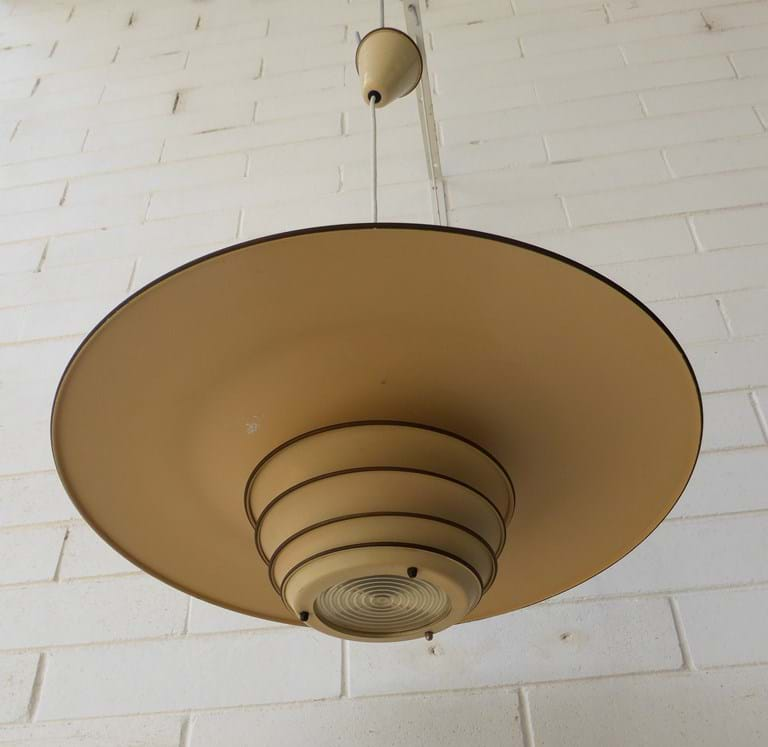 1950s Millane Lighting Co. pendant light fitting