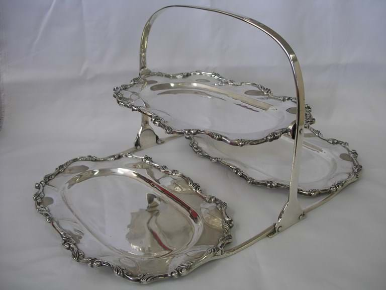 Otaduy Mexico sterling silver serving tray