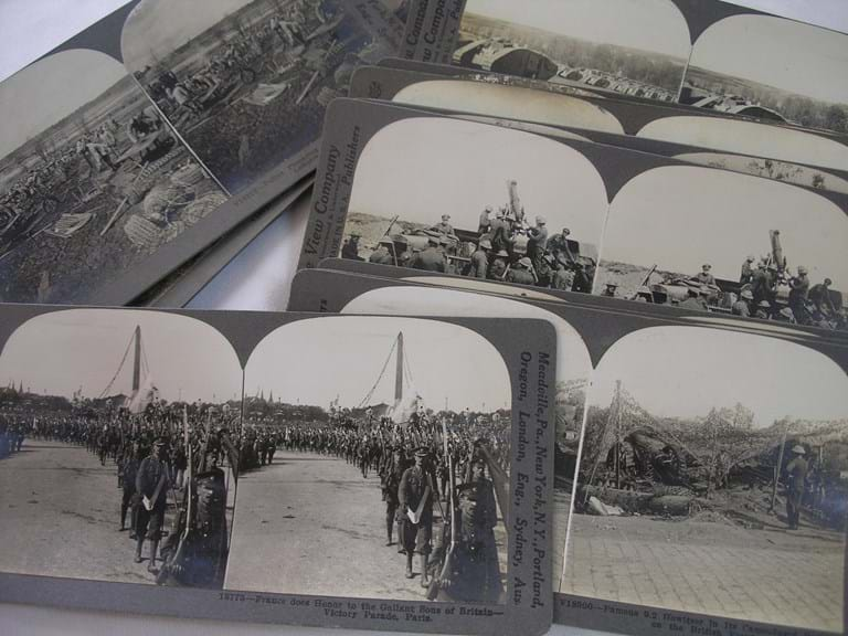 WWI stereocards