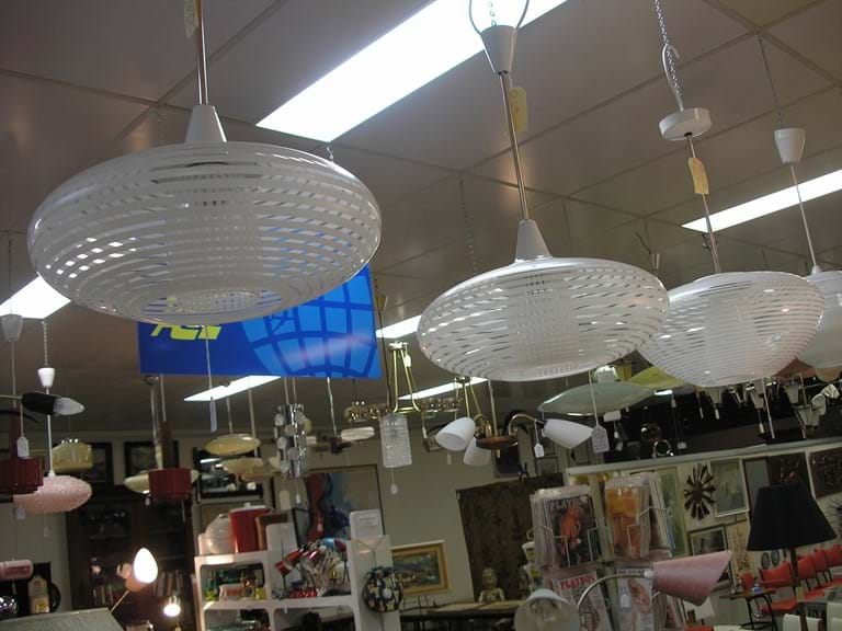 1960s Stanway pendant light fitting Crown Lighting, Sydney