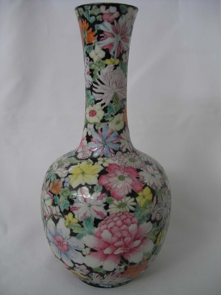 c1920 Yuan Shikai early Republic period Mille Fleur vase