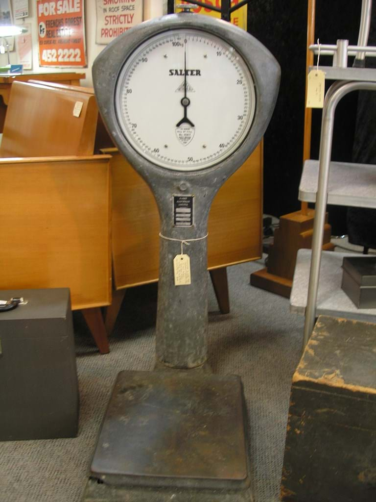 Heavy duty industrial scales by Salter