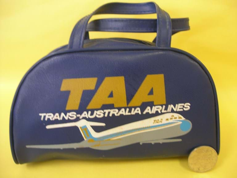 Rare TAA miniature cabin bag