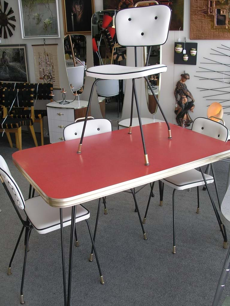 60s 5 piece dinette setting