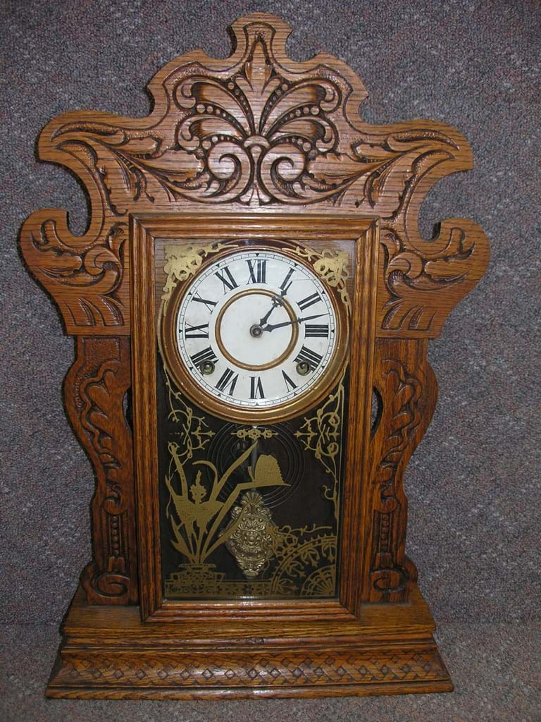c1910 Sessions cottage clock